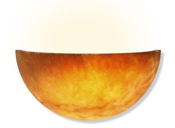 Alabaster Wandlampe Rondo Terra