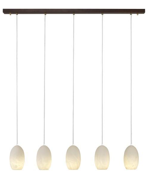 Alabasterlampe Ellipso 5 Creme LED
