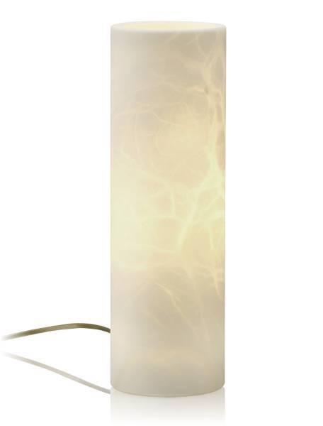 Alabasterlampe Candle 35 Creme